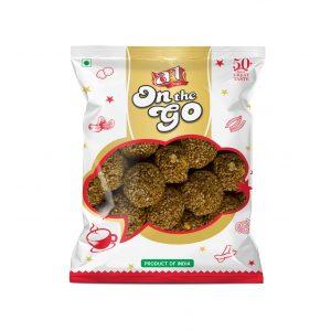 white Sesame balls